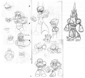RobotMaster idea sketchs by rongs1234