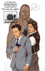 TLIID - Han Solo meets... Napoleon Solo by Nick-Perks