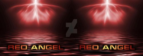 Red Angel coffee mug by NewDivide1701