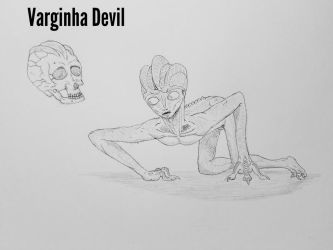 COTW#194 Varginha Devil by Trendorman