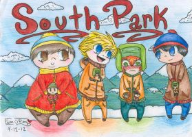 South Park Cuties! by edenfire57