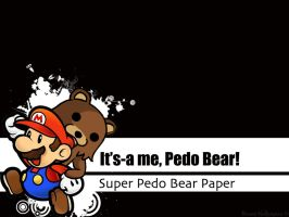 Super Paper Pedo Bear by 92Benny