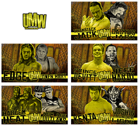Ultimate Mayhem Wrestling - Match Graphics by DNGRLIAM