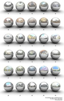 High-Res HDRI Map Pack 1 by smashmethod