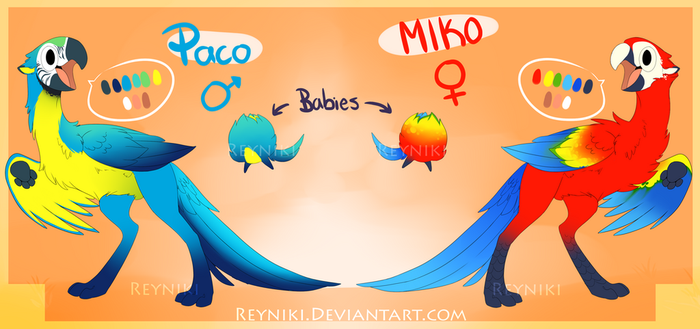Paco and Miko Ref by Reyniki