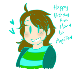 [Gift] Happy bday yay by KawaiiHetalia721