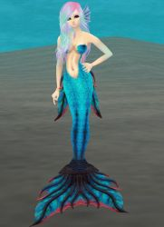 Theme Game - Nerice, Mermaid of the Moon by Toni-Technaclaw