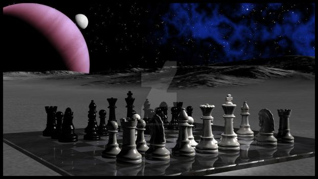Moon Chess by Cybermage86