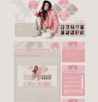 Shay Mitchell layout by Nikrecia