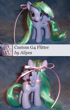 MLP G4 Custom Background Character Flitter by Alipes