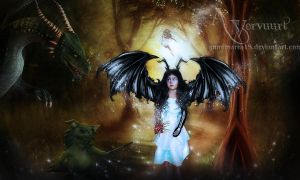 The Little Maleficent by annemaria48