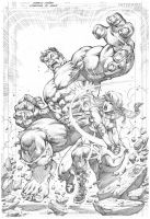 Lorenna vs Hulk by MARCIOABREU7