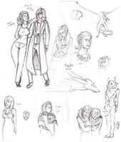 Sketches for July 27 2013 by Anomalies13