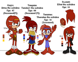 Sonatos` family reference by lizathehedgehog