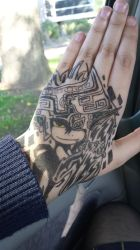 Midna Hand Drawing by MaskedGolem