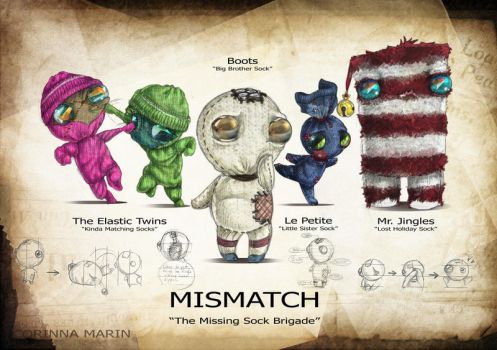 MISMATCH: The Missing Sock Brigade by Miimochi