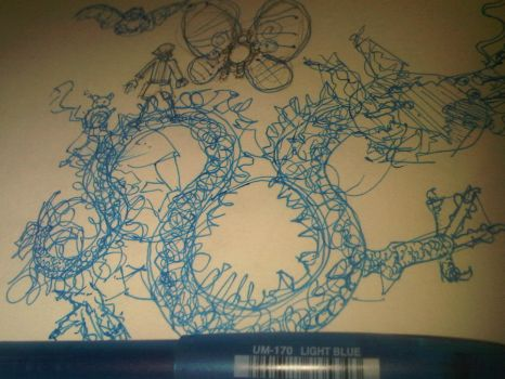 dragon sketch 19.02.12 by compliment-pin