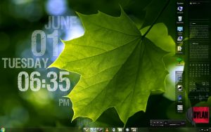 Growth Rainmeter Desktop by gdroland