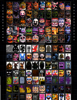 FNAF UCN: 100 Characters Edition! by sonicvshtf654