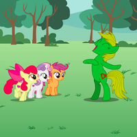 Jungle Heart And The CMCs by OptimusV42