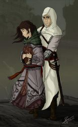 Altair and Maria by Polyne55