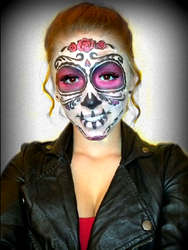 Sugar Skull (Day of the Dead Face Paint) 1 by Kisskiss64