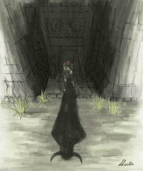 Shadow of the Colossus by LLucilla