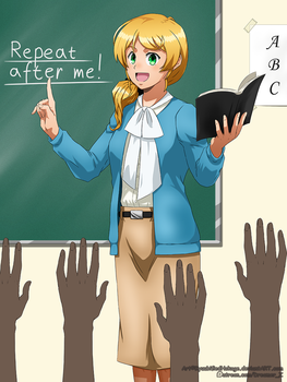 Saa minna! Repeat after me! by KyuubifiedHokage