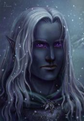 Drizzt Do'Urden by Shade-of-Stars