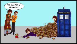 Time Travel Tribble Trouble by GlyphBellchime