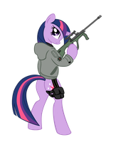 twilight sparkle by shadawg