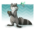 Meeko and Flit by NicnakO44