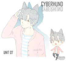 CYBERHUND unit 07 - SET PRICE - [ CLOSED ] by demialien