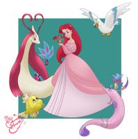 Ariel Pokemon trainer