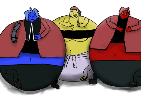 Fruity Inflated Alchemists by Toonrick2012