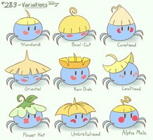 Pokemon Variations - Surskit