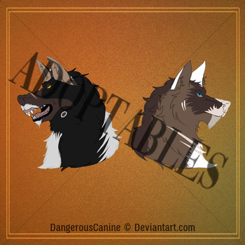 Canine Adopts [OPEN] by DangerousCanine