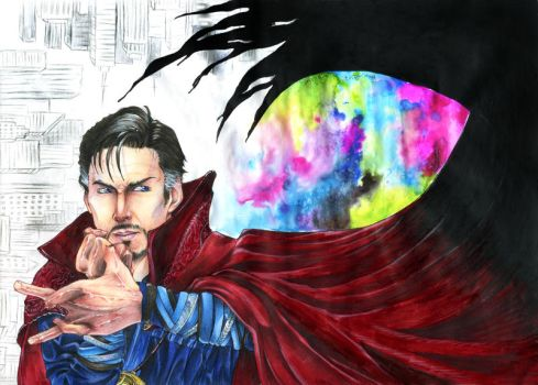 Doctor Strange- The Void Calls by GuiltyOne