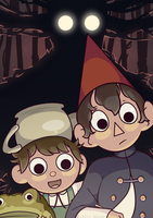 Over The Garden Wall by HumbleTechnologist