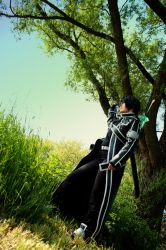 Kirito Sword Art Online Cosplay - Another World by Seikoun