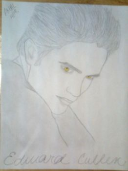 Edward Cullen by me Princess by saharapriincesz