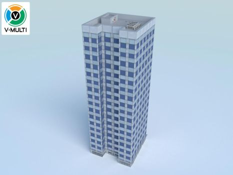 Low Poly Building 3 by V-MULTI