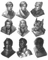 Busts by reaiam