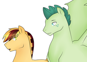 Fletcher and T Blitz by Mutant-Girl013
