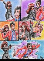 Lupin And Fujiko- Let Me Try My New Spray! 1 by kyo-domesticfucker
