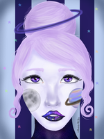 Cosmic Girl by MaddelineVanPaire
