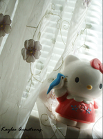 Hello Kitty Loneliness by SushiSuicide