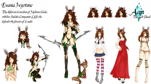 Evania Ivystone: Character Sheet by AerinBoy