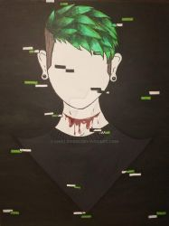Antisepticeye Painting by Linklove93