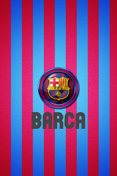 wallpaper for ipod 4-barca by Great-Design
